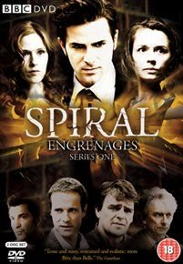 Spiral: Series 1 (French, DVD): Grégory Fitoussi, Caroline Proust, Philippe Duclos, Audrey Fleurot, Fred Bianconi, Thierry...
