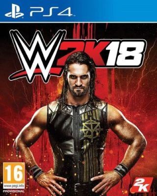 WWE 2K18 (PlayStation 4, Blu-ray disc):