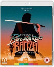 The Adventures of Buckaroo Banzai Across the 8th Dimension (Blu-ray disc): Peter Weller, Clancy Brown, Lewis Smith, Jeff...