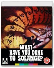 What Have You Done to Solange? (Blu-ray disc): Christine Galbo, Fabio Testi, Joachim Fuchsberger, Camille Keaton, Karin Baal