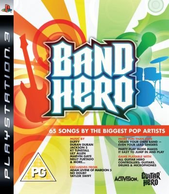 Band Hero - Standalone Game (PlayStation 3):