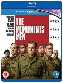 The Monuments Men (Blu-ray disc): Matt Damon, Cate Blanchett, George Clooney, Bill Murray, John Goodman, Jean Dujardin, Hugh...