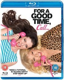 For a Good Time, Call... (Blu-ray disc): Lauren Miller, James Wolk, Ari Graynor, Justin Long, Lawrence Mandley, Eddie Geller,...