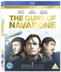The Guns of Navarone (English & Foreign language, Blu-ray disc): Gregory Peck, David Niven, Anthony Quinn, Stanley Baker,...