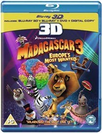 Madagascar 3 - Europe's Most Wanted (Blu-ray disc): Ben Stiller, David Schwimmer, Chris Rock, Sacha Baron Cohen, Frances...