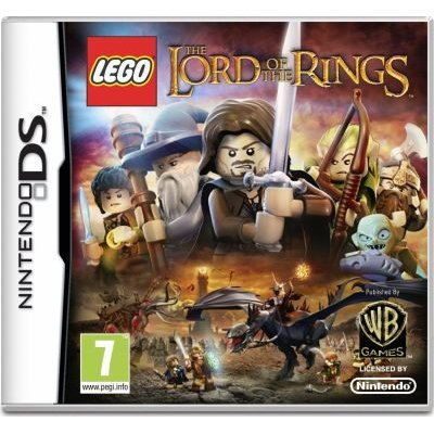 LEGO Lord of the Rings (Nintendo DS, Game cartridge):