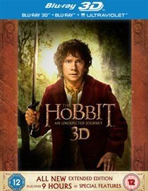 The Hobbit: An Unexpected Journey - Extended Edition (English & Foreign language, Blu-ray disc): Martin Freeman, Ian McKellen,...