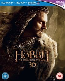 The Hobbit: The Desolation of Smaug (English, Italian, Chinese, Blu-ray disc): Martin Freeman, Ian McKellen, Richard Armitage,...
