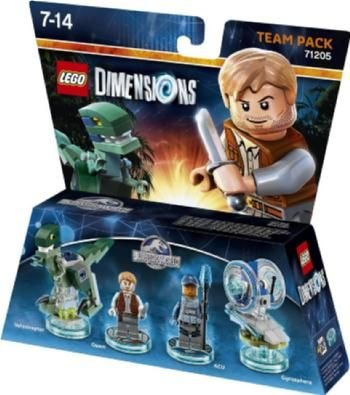 LEGO Dimensions Jurassic World Team Pack:
