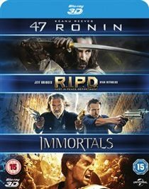 47 Ronin/RIPD/Immortals (Blu-ray disc): Tadanobu Asano, Yorick Van Wageningen, Mary-Louise Parker, Mike O'Malley, Luke...