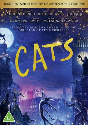 Cats (DVD): Francesca Hayward, James Corden, Judi Dench, Jennifer Hudson, Idris Elba, Jason Derulo, Taylor Swift
