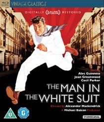 The Man in the White Suit (Blu-ray disc): Alec Guinness, Joan Greenwood, Cecil Parker, Michael Gough, Ernest Thesiger,...