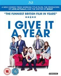 I Give It a Year (Blu-ray disc): Anna Faris, Rose Byrne, Simon Baker, Minnie Driver, Jason Flemyng, Rafe Spall, Lee...
