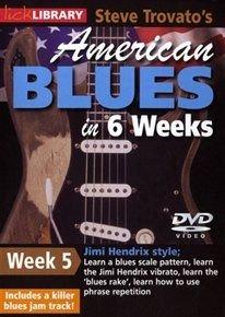 American Blues Guitar in 6 Weeks: Week 5 - Jimi Hendrix (DVD): Steve Trovato, Jimi Hendrix