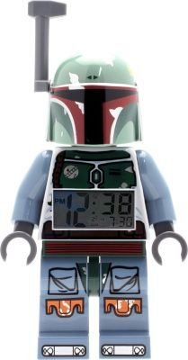 LEGO Star Wars Boba Fett Kids Minifigure Light Up Alarm Clock: