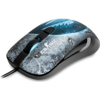 SteelSeries CS:GO KANA Wired Optical Gaming Mouse with Official CounterStrike: Global Offensive Design and Artwork: