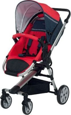 Foppapedretti Supertres Travel System (Red):