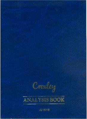 Croxley JD6018 A4 Analysis Book - 18 Cash Columns (144 Pages):
