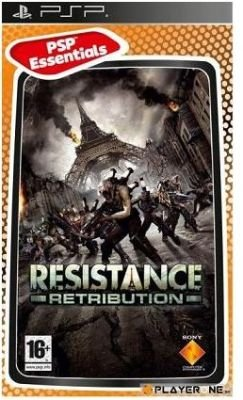 Resistance Retribution (Essential) (PSP, UMD Video): PSP Game