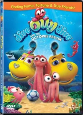 Dive Olly Dive And The Octopus Rescue (DVD):
