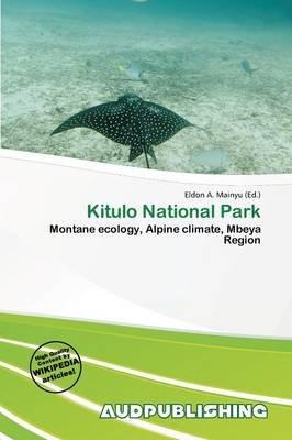 Kitulo National Park (Paperback):
