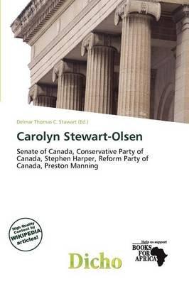 Carolyn Stewart-Olsen (Paperback): Delmar Thomas C. Stawart