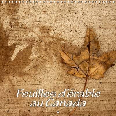 Feuilles D'erable Au Canada 2017 - La Beaute Des Feuilles D'erable (French, Calendar, 2nd edition): Philippe Waterloos