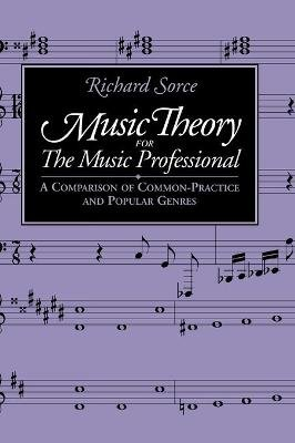 Music Theory for the Music Professional (Hardcover): Richard Sorce