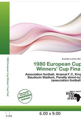 1980 European Cup Winners' Cup Final (Paperback): Evander Luther