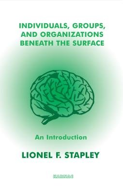 Individuals, Groups and Organizations Beneath the Surface - An Introduction (Electronic book text): Lionel F. Stapley