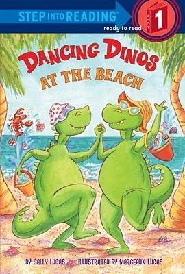 Dancing Dinos At The Beach (Hardcover): Sally Lucas
