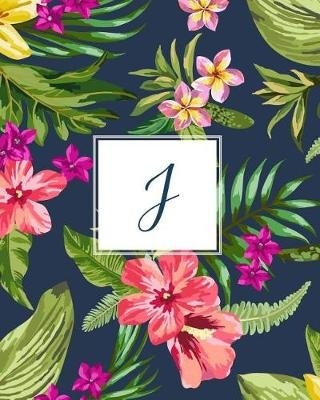 J - Tropical Floral, 150 Pages, 8 X 10 (Paperback): Creative Notebooks