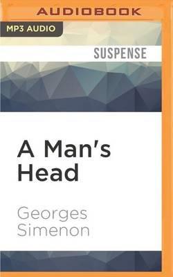 A Man's Head (MP3 format, CD): Georges Simenon