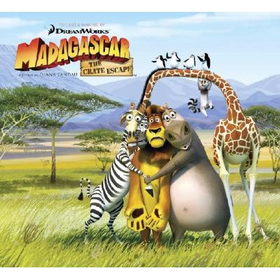 "The Art and Making of ""Madagascar"" (Hardcover): Jerry Beck"