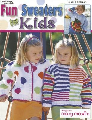Fun Sweaters for Kids (Paperback): Leisure Arts