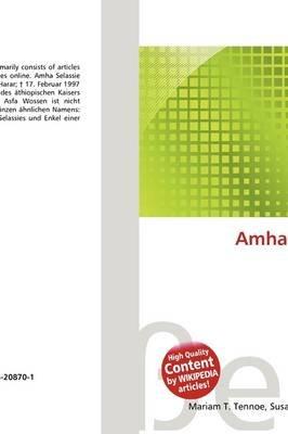 Amha Selassie I  (German, Paperback): Lambert M  Surhone