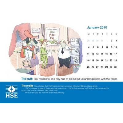 Great Health And Safety Myths 2010 Calendar Health And Safety