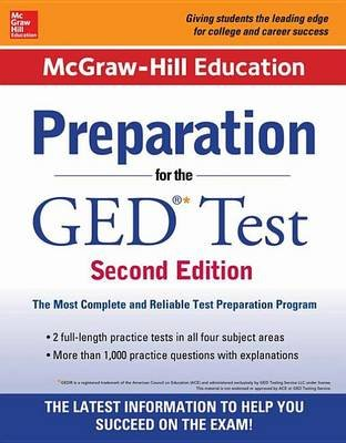 McGraw-Hill Education Preparation for the GED Test 2nd Edition (Electronic book text, 2nd ed.): Cynthia Johnson