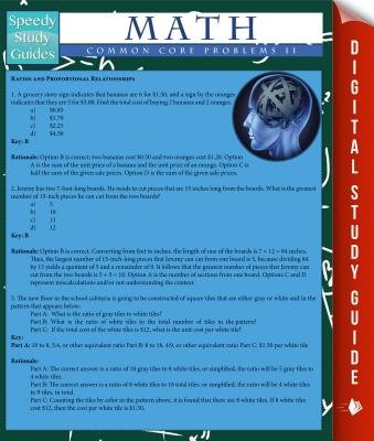Math Common Core Problems Il (Speedy Study Guides) (Electronic book text): Speedy Publishing LLC