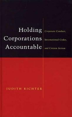 Holding Corporations Accountable: Corporate Conduct, International Codes and Citizen Action (Electronic book text): Judith...