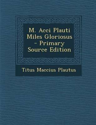 Plautus miles gloriosus online dating