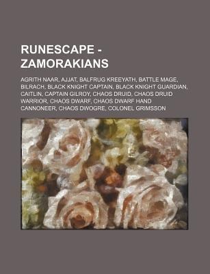 Runescape - Zamorakians - Agrith Naar, Ajjat, Balfrug