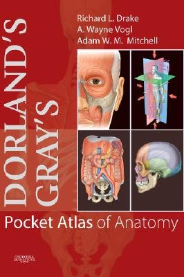 Dorland's/Gray's Pocket Atlas of Anatomy (Paperback): Richard Drake, A. Wayne Vogl, Adam W. M Mitchell