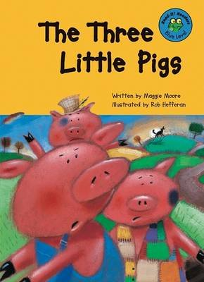 The Three Little Pigs (Hardcover, Library binding): Maggie Moore