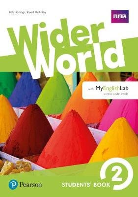 Wider World 2 Students' Book for MyEnglishLab Pack (Paperback): Bob Hastings, Stuart McKinlay