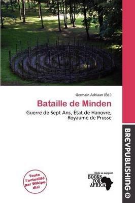 Bataille de Minden (French, Paperback): Germain Adriaan