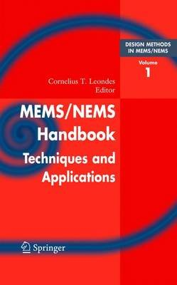 Mems/Nems - (1) Handbook Techniques and Applications Design Methods, (2) Fabrication Techniques, (3)  Manufacturing Methods,...