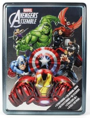 Marvel Avengers Assemble Happy Tin (Mixed media product): Parragon Books Ltd