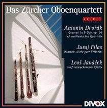 Various Artists - Das Zurcher Oboenquartett (CD): Antonin Dvorák, Juraj Filas, Leos Janacek, Zurich Oboe Quartet