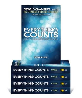 Everything Counts 5 Pack YS - A Year's Worth of Devotions on Radical Living (Paperback): Zondervan Publishing